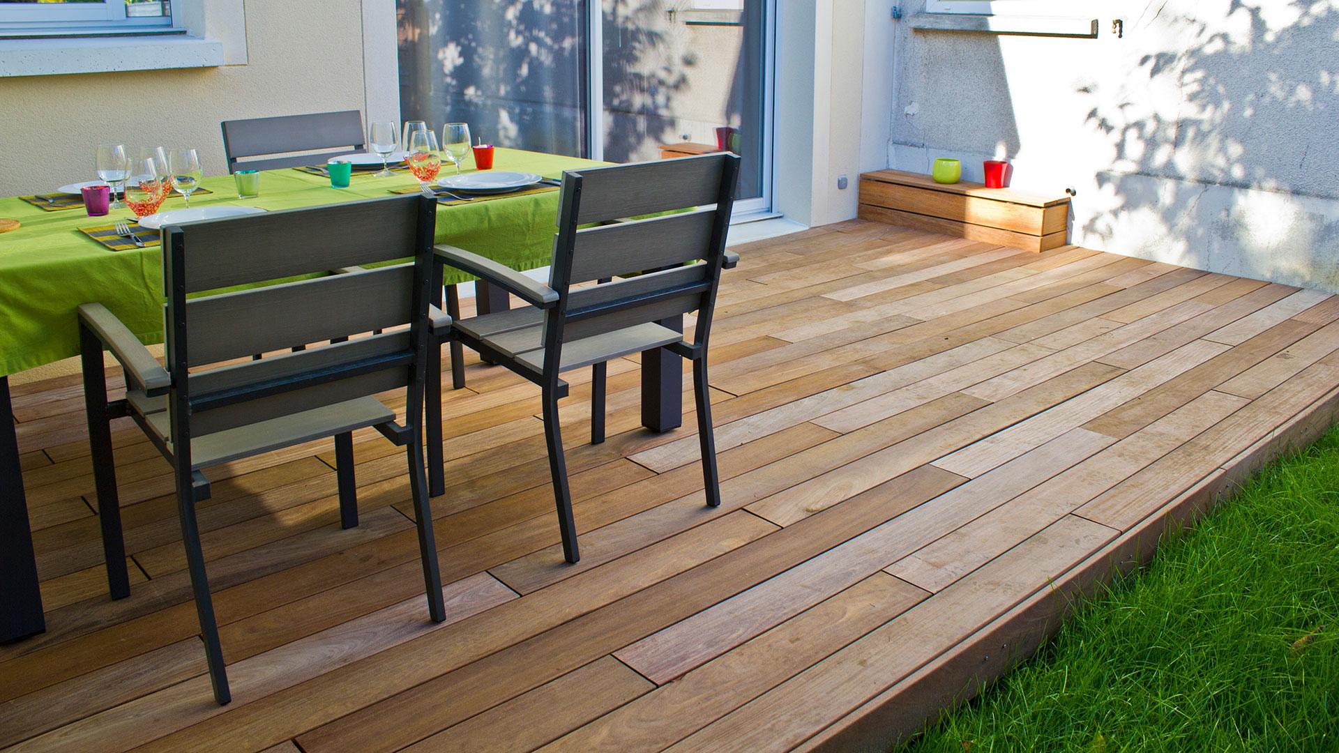 Terrasse En Bois Exotique lames terrasse bois exotique: ipé, massaranduba, cumaru