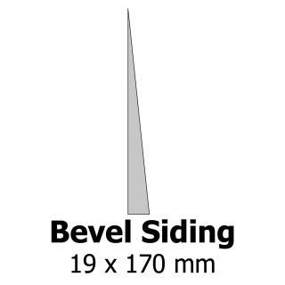 Profil bardage bois Bevel Siding 19x170
