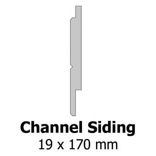 Profil bardage bois Channel Siding 19x170