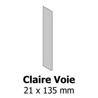 Profil bardage bois Claire Voie 21x135