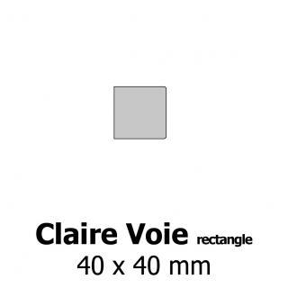 Profil bardage bois Claire Voie 4x40
