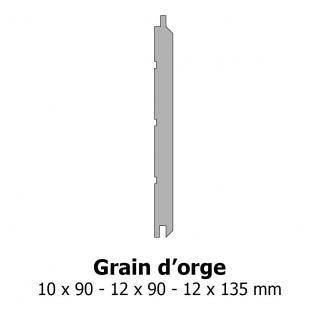 Lambris grain d'orge