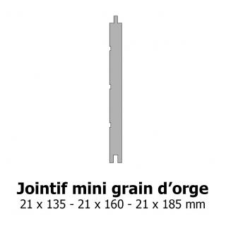 Lambris Jointif mini grain d'orge