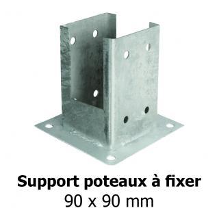 Support poteaux à fixer