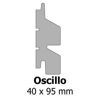 Profil bardage bois Oscillo 40x95