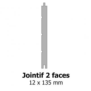 Jointif 2 faces 12x135 mm
