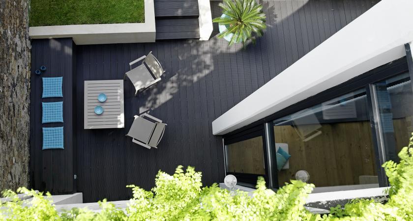 terrasse bois composite lame de terrasse composite silverwood. Black Bedroom Furniture Sets. Home Design Ideas